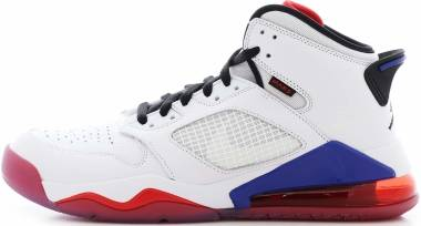 Jordan Mars 270 - White Black University Red Rush Blue
