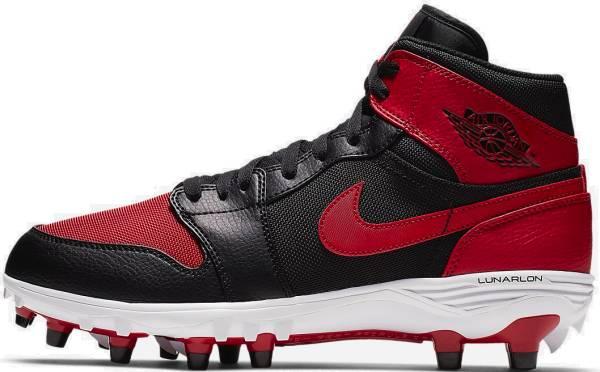 Jordan 1 TD Mid - Black/Varsity-red (AR5604061)