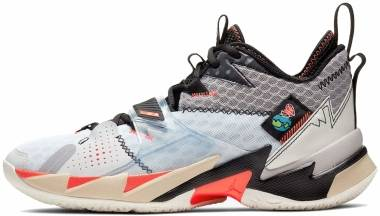 Jordan Why Not Zer0.3 - White Univ Red Black Mtlc Silver (CD3003101)