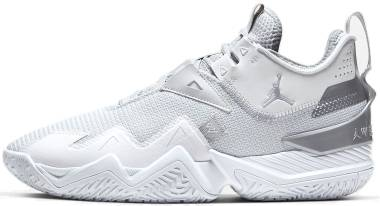 Jordan Westbrook One Take - White/White/Metallic Silver (CJ0780100)