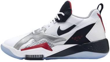 Jordan Zoom 92 - White/True Red/Metallic Silver/Obsidian (CK9183101)