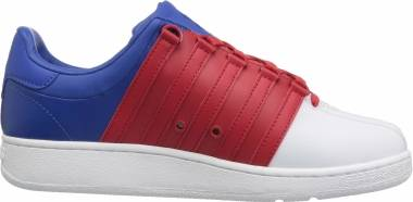K-Swiss Classic VN - White/Ribbon Red/Classic Blue