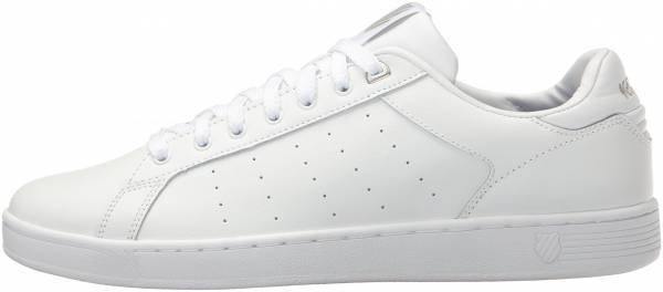 K-Swiss Clean Court CMF - WHITE GULL GRAY