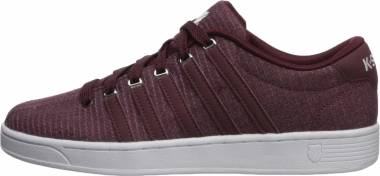 K-Swiss Court Pro II T CMF - Red Mahogany/White