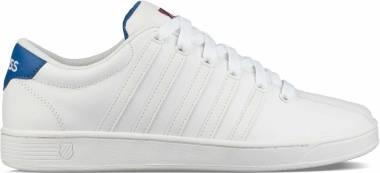 K-Swiss Court Pro II CMF - White Classic Blue Red