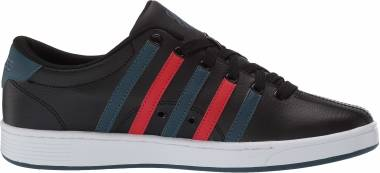 K-Swiss Court Pro II CMF - Black/Stargazer/High Risk Red (03629024)