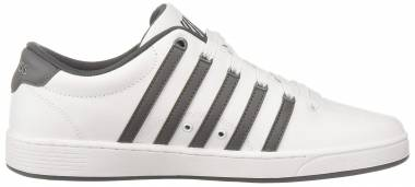 K-Swiss Court Pro II CMF White/Charcoal/White Men
