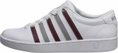 K-Swiss Court Pro II CMF - White Mahogany Neutral Gray