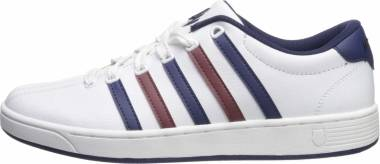 K-Swiss Court Pro II CMF - White/Medieval Blue/Port