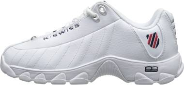 K-Swiss ST329 CMF - White/Navy/Red (03426130)