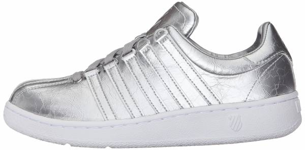 K-Swiss Classic VN Aged Foil Silver/White