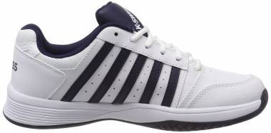 K-Swiss Court Smash - Bianco White Navy 109 M (05626109)