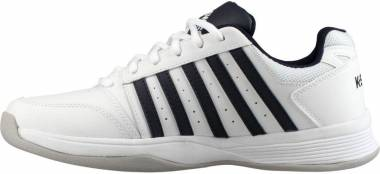 K-Swiss Court Smash - White Magnet White Hirs 7 5 000070584