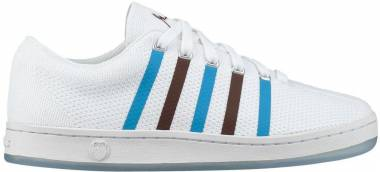 K-Swiss Classic 88 Knit - White-brown-blue (06174191)