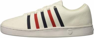 K-Swiss Classic 88 Knit White/Navy/Red Men