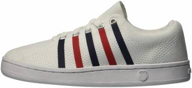 K-Swiss Classic 88 Knit - White/Navy/Red (95849130)