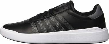 K-Swiss Heritage Light L  - Black Charcoal White