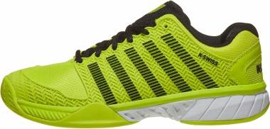 K-Swiss Hypercourt Express - Neon Yellow/Black/White (03377739)