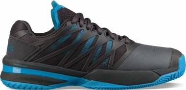 K-Swiss Ultrashot - Black Magnet Malibu Blue 48