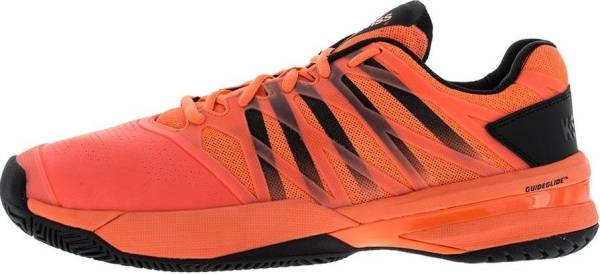 K-Swiss Ultrashot - Orange Neon Blaze Black 22