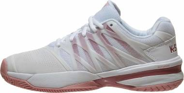 K-Swiss Ultrashot 2 - White/Coral Blush