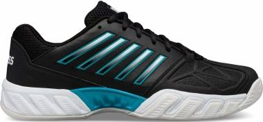 K-Swiss Bigshot Light 3 - Negro Black White Algiers Blue 029 (05366029)