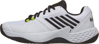 K-Swiss Aero Court  - White Black Neon Yellow (06134124)