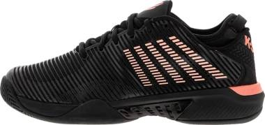 K-Swiss Hypercourt Supreme - Black/Soft Neon Orange (06615023)