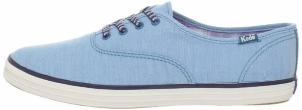 Keds Champion Chambray Blue Chambray