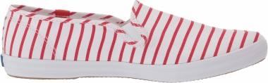Keds Champion Slip-On  - Red Breton Stripe (WF62461)