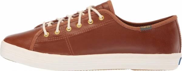 Keds Kickstart Leather Cognac