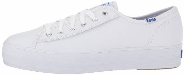 white platform keds