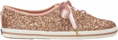 Keds x Kate Spade New York Champion Glitter - Rose Gold Canvas