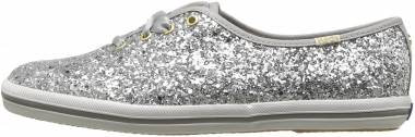 Keds x Kate Spade New York Champion Glitter - Silver (WF52390)
