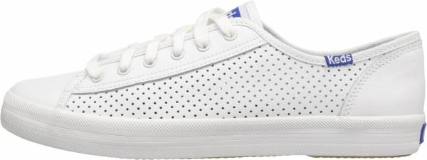 Keds Kickstart Perf Leather - White/Blue