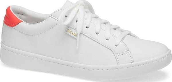 Keds Ace Leather - White Coral