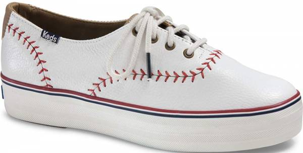 Keds Triple Pennant Leather White