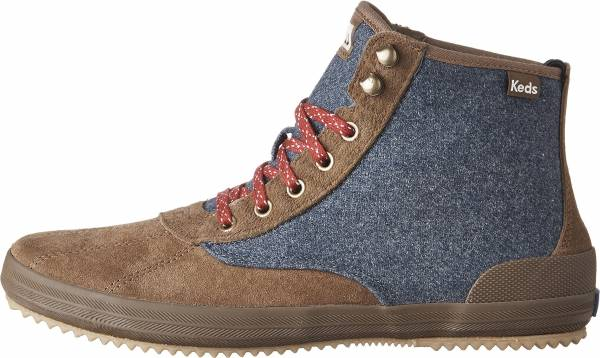 Keds Scout Suede Wool WX Azul Marrón
