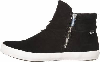 Keds Midtown Zip Suede WX - Black
