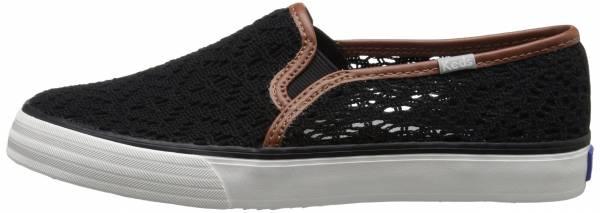 Keds Double Decker Crochet Black