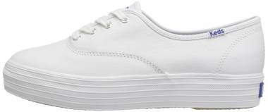 Keds Triple Leather - White (WH55748)