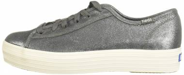 Keds Triple Kick Glitter Suede - Dark Grey (WH58981)