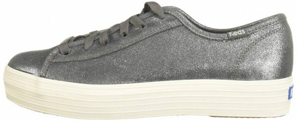 Keds Triple Kick Glitter Suede Dark Gray