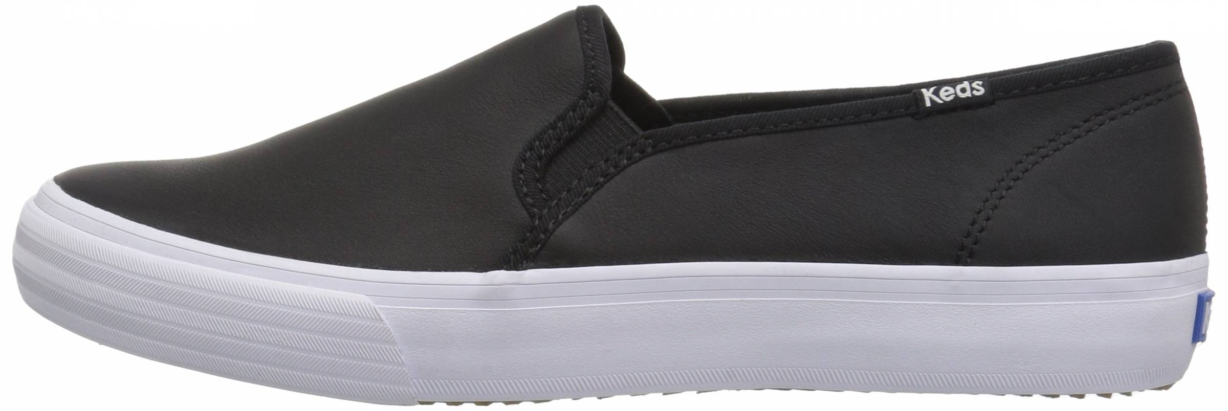 keds black leather sneakers