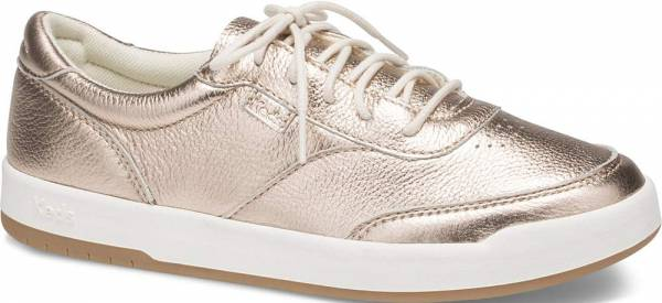 Keds Match Point Metallic Leather Rose Gold