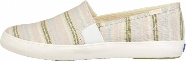 Keds Clipper Stripe - Charcoal