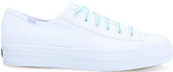 Keds Triple Kick Multi Lace - White Multi Lace