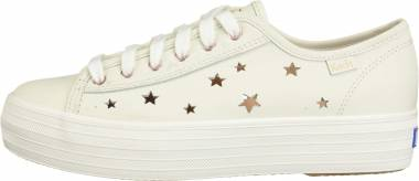 Keds Triple Kick Star Leather - Cream (WH59452)