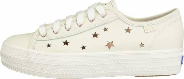 Keds Triple Kick Star Leather Cream