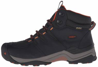 Keen Gypsum II Mid Waterproof  Black Men